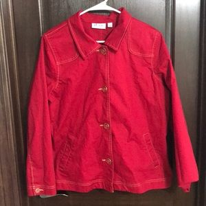 d&co Red Jacket